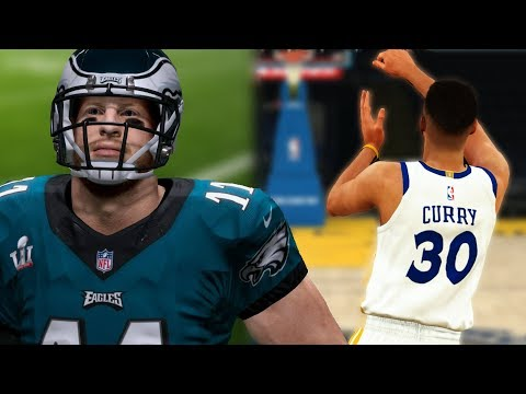 What Will Happen First? Full Court Shot OR 99 Yard Touchdown Pass? Madden 18 VS NBA 2K18
