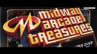 Classic PS2 Game Midway Arcade Treasures on PS3 in HD 720p