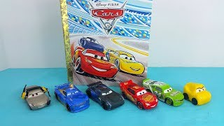 Cars 3 Movie Book Read with Me Lightning McQueen & Cruz Ramirez