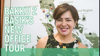 BAKKU 2 BASIK NEW OFFICE TOUR // Alice Dixson