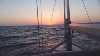 Halcyon Yacht Delivery - Southerly 35rs - Mallorca to UK