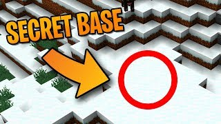 The BEST Secret Base Entrance In Minecraft 1.14