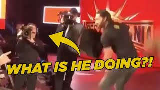 Crazy WWE RAW Moment You Only Saw Live