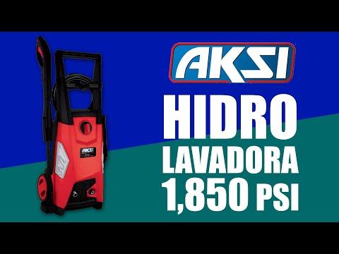 Hidrolavadora AKSI Eléctrica 1,850 PSI