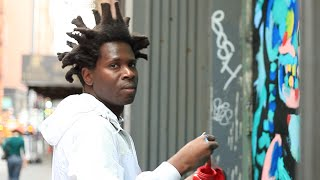 Watch Bradley Theodore Paint In SoHo | Time-lapse
