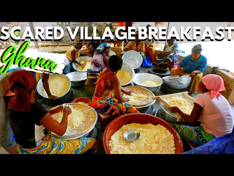 THE MOST FAMOUS AFRICAN BREAKFAST IN THE VILLAGE, AFRICAN VILLAGE FOOD, village food in Africa EP 11