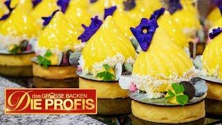 50 Mini-Kuchen: Alles muss aus Mango sein! | (1/2) | Das große Backen – Die Profis | SAT.1