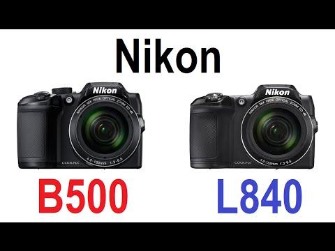 Nikon Coolpix B500 vs Nikon Coolpix L840