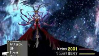 Sorceress Rinoa vs Ultimecia Final Battle (Angel Wing Solo) part 2