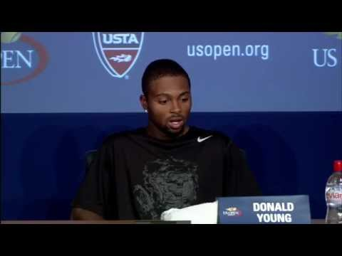2011 US Open Press Conferences: Donald Young (First Round)