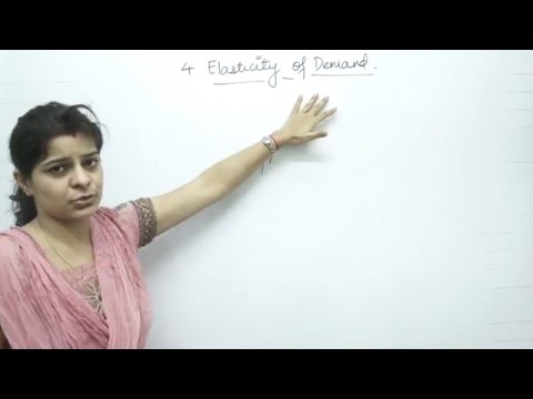 ELASTICITY OF DEMAND CHAPTER: 4, STD.: 12TH, ECONOMICS