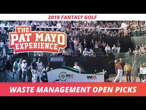 Fantasy Golf Picks: 2018 Waste Management Phoenix Open Picks & Sleepers
