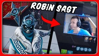 ROBIN SAYS...! V-Bucks for WINNER | Fortnite Battle Royale