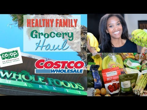 Healthy Costco and Whole Foods Grocery Haul | Vegan and Vegetarian Family Meal Inspo!