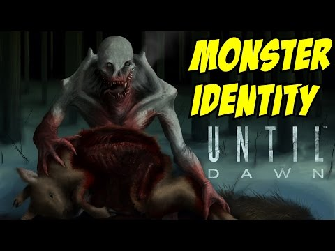 Until Dawn Wendigo Monsters Identity Reveal (Obviously Spoilers)