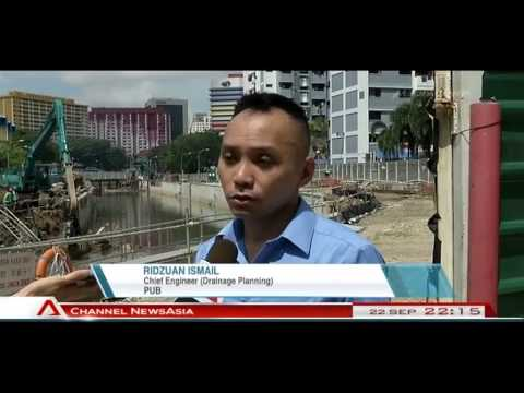 Climate Change Affects Singapore Flood Risk - 22Sep2013