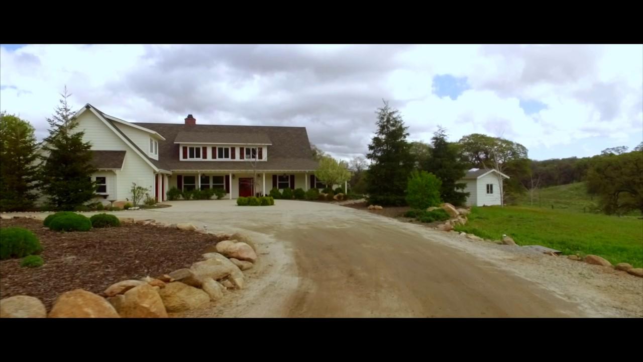 Luxury Farm House california luxury farmhouse & organic boutique farm for sale - youtube