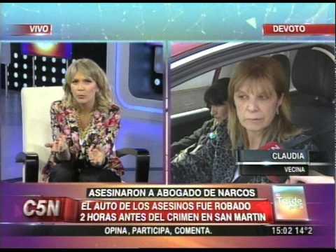 C5N - POLICIALES: ASESINARON A ABOGADO DE NARCOS (PARTE 3)