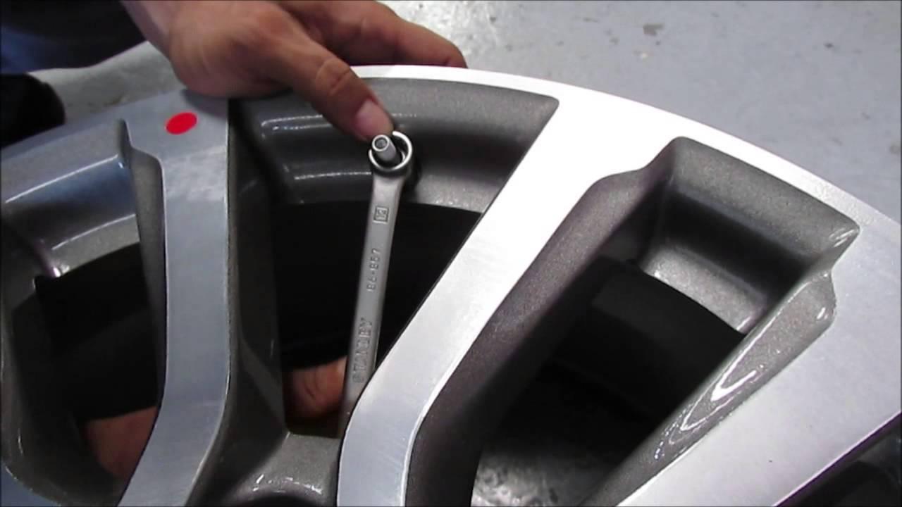 Sensor de presión de aire de la llanta - YouTube