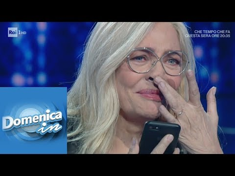 Mara Venier si commuove per la sorpresa del marito Nicola Carraro - Domenica In 24/02/2019