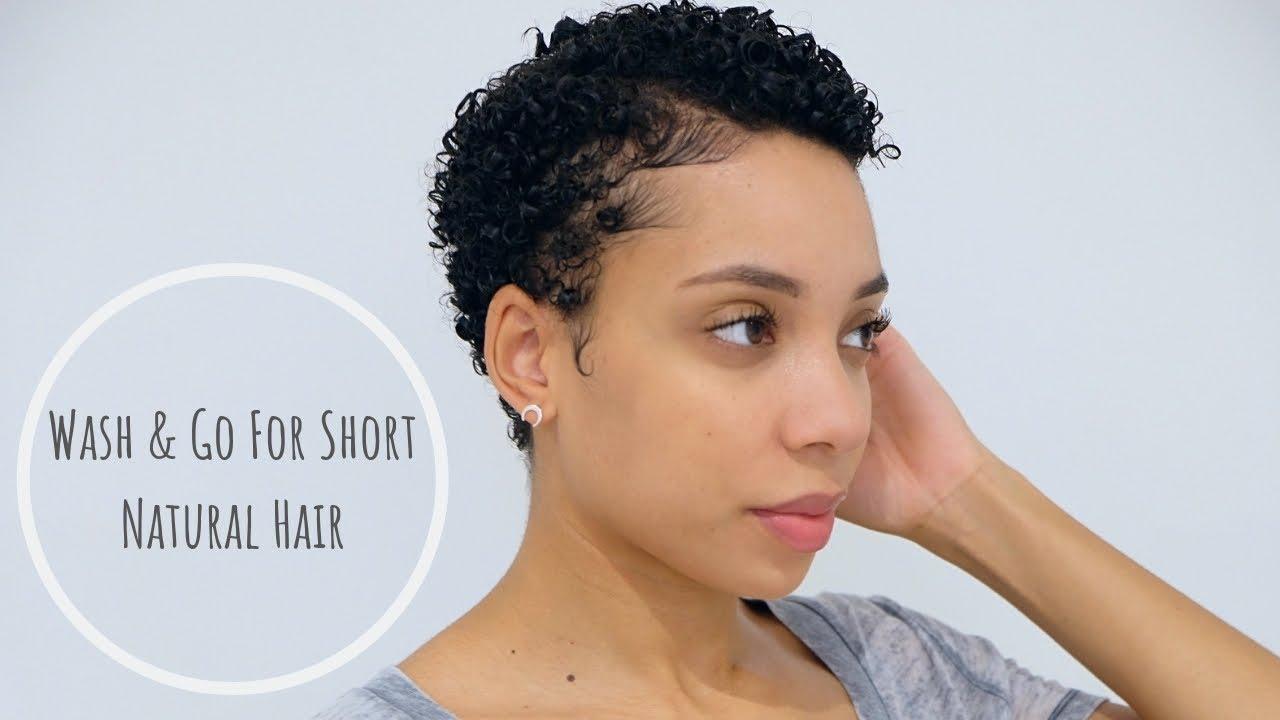 wash & short natural