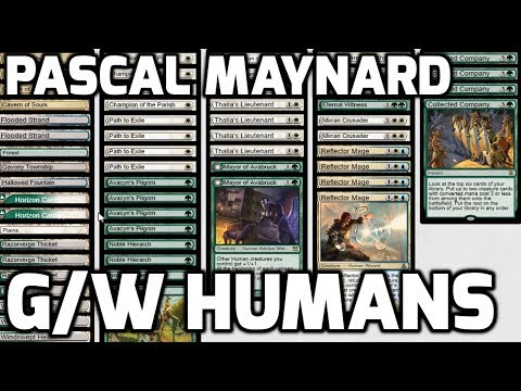 Channel PMayne - Modern G/W Humans (Deck Tech & Matches)