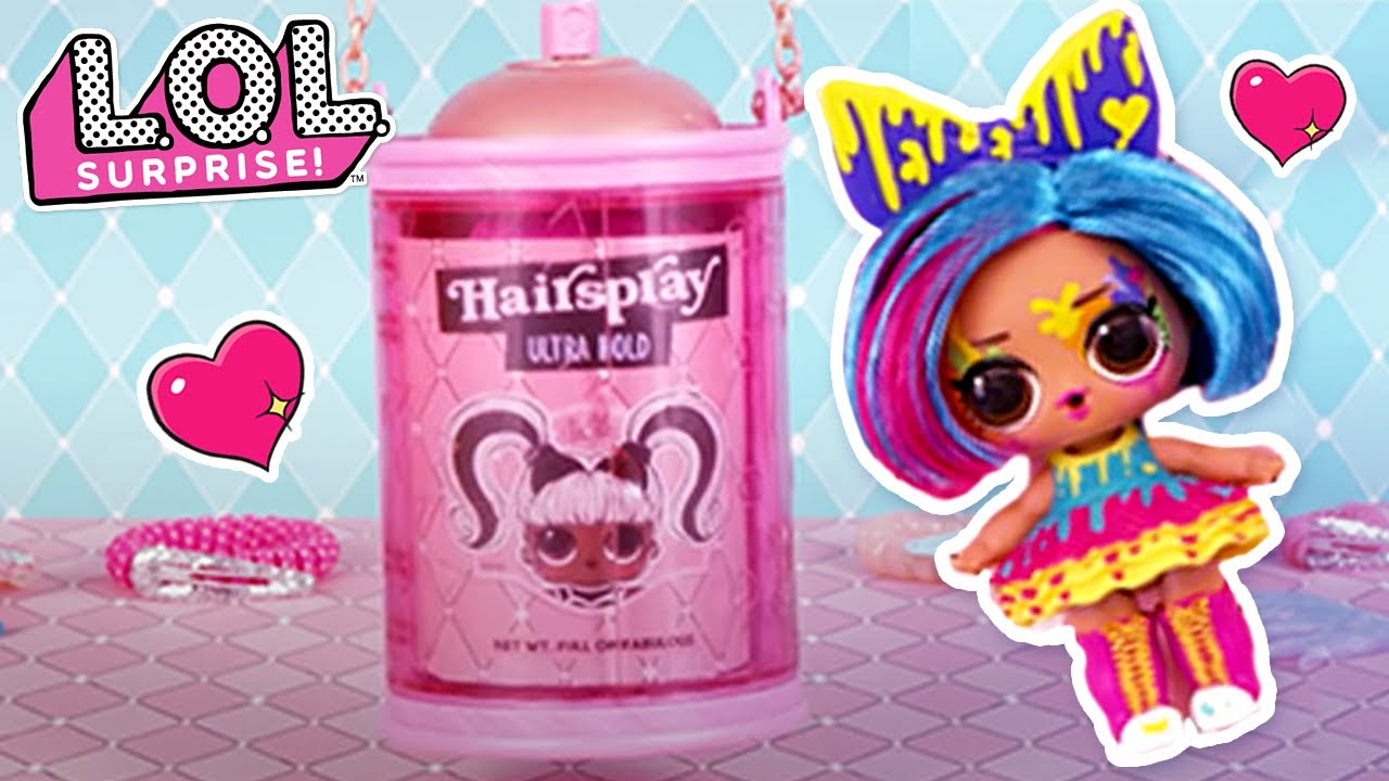 15 Surprises! #HAIRGOALS Makeover Series Mystery Doll NEW LOL Surprise