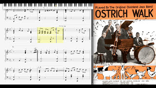 Ostrich Walk by the Original Dixieland Jazz Band (1917, Fox Trot)