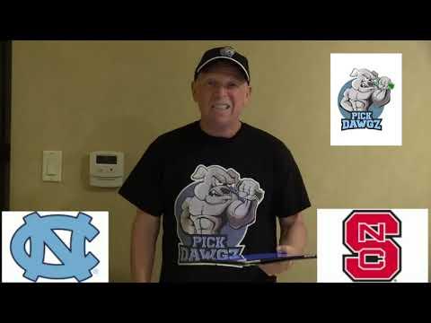 NC State vs North Carolina 1/27/20 Free College Basketball Pick and Prediction CBB Betting Tips