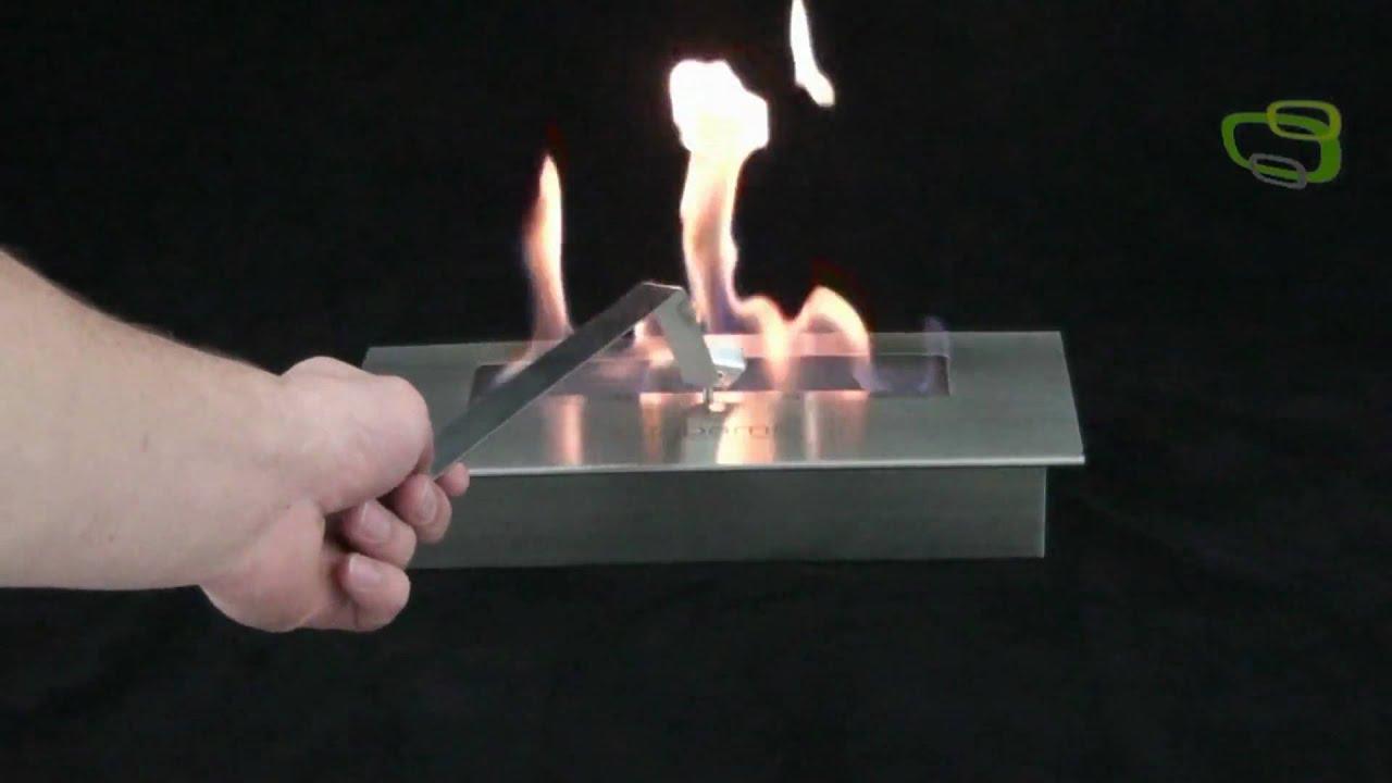 bio ethanol brennkammer kamineinsatz youtube. Black Bedroom Furniture Sets. Home Design Ideas