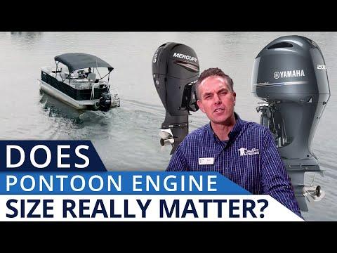 Pontoon Boat Engine