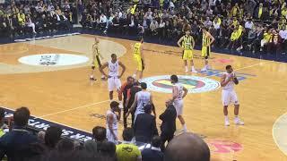 Fenerbahçe Beko 65-63 Real Madrid | Sergio Llull'un Diskalifiye Olduğu Anlar