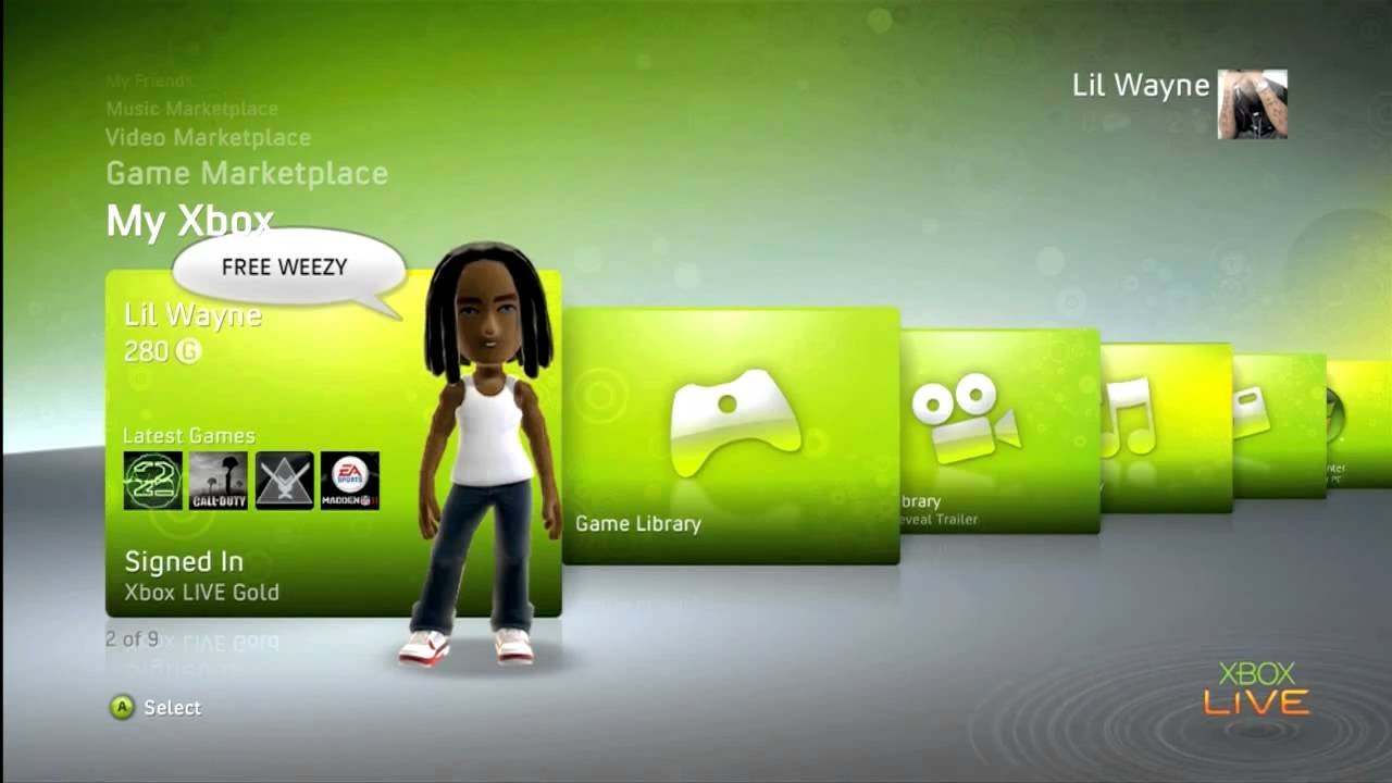 how to change profile name on xbox 360