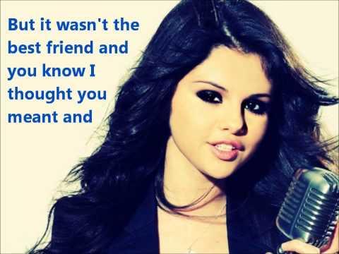 Selena Gomez   I Won't Apologize lyric video
