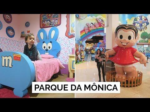 PARQUE DA MÔNICA | Vlog #126 | Lia Camargo