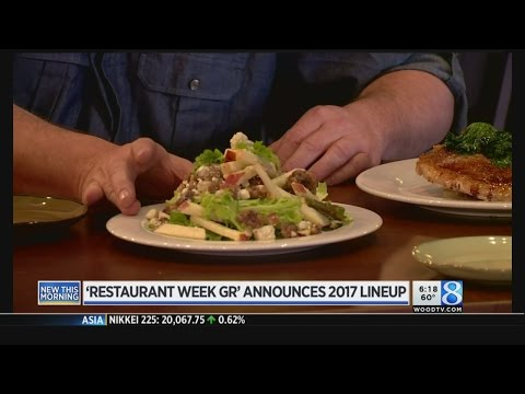 Restaurant Week Grand Rapids Adds Lunch Deal, New Restaurants For 2017