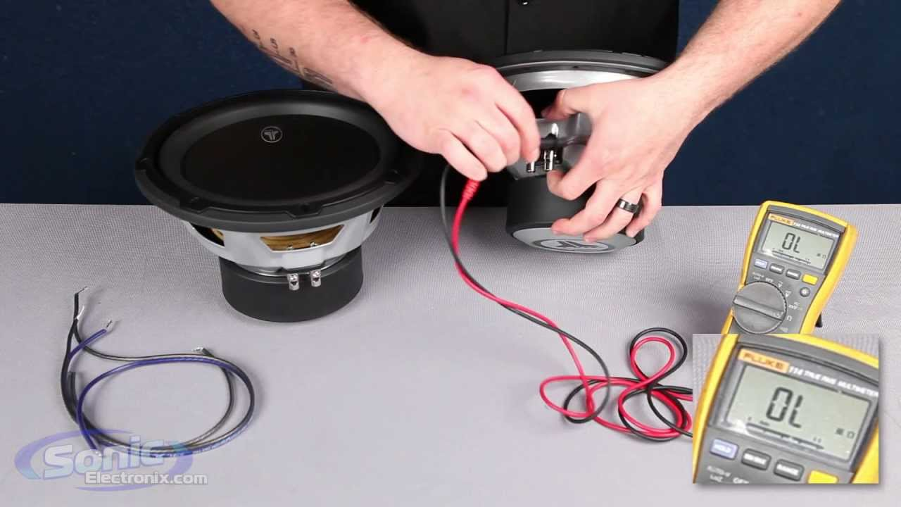 How to Wire Two Single 2 ohm Subwoofers to a 4 ohm Final Impedance ...