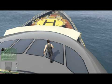 GTA Online- I Bought a Boat!!- Super Yacht Purchase!