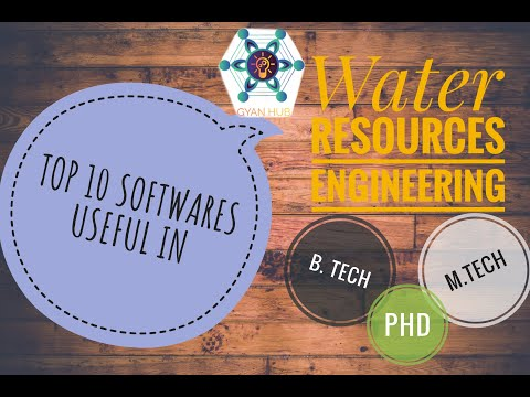 Useful software in the field of Water Resources Engineering | B.Tech | M.Tech | P.hD 2020