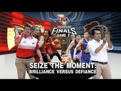 PBA Philippine Cup 2018 Finals Game 2: San Miguel Beer vs. Magnolia Mar. 25, 2018