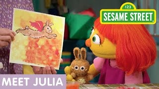 Repeat youtube video Sesame Street: Meet Julia (Full Clip | 10 Min)