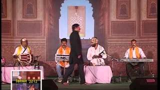 bhojpuri folk songs by manoj tiwari group in virasat 2012 at dehradun