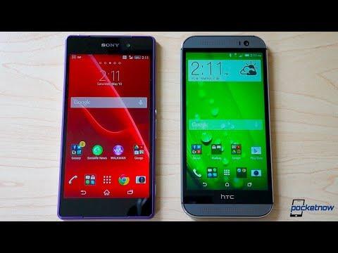 Xperia Z2 vs HTC One M8   Pocketnow