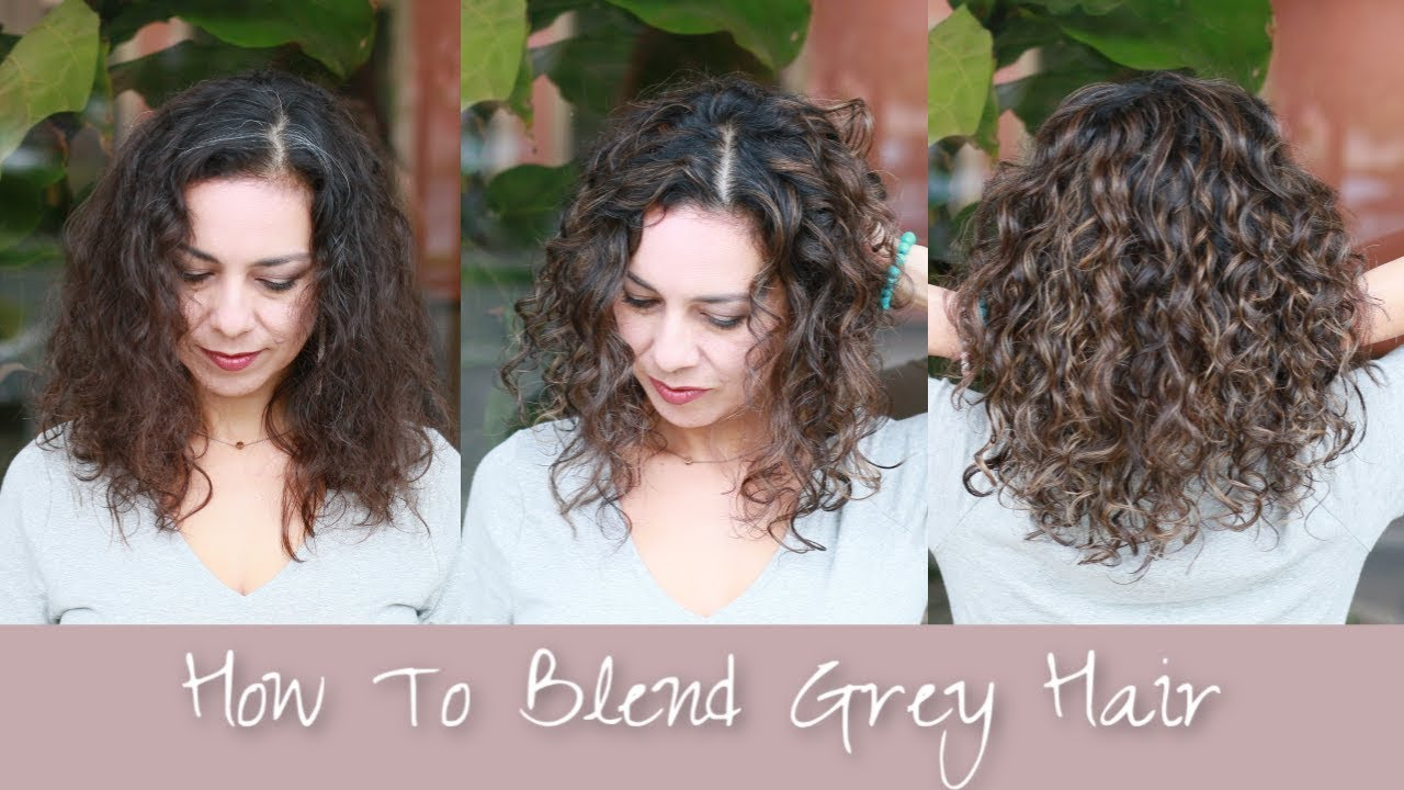 How To Blend Gray With Demi Permanent Haircolor Youtube