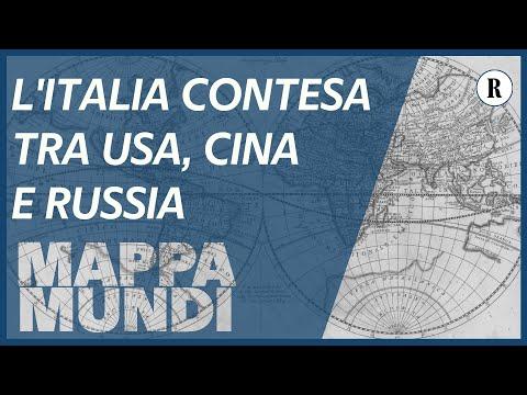 Coronavirus, L'Italia indebolita contesa da Usa, Cina e Russia - Mappamundi