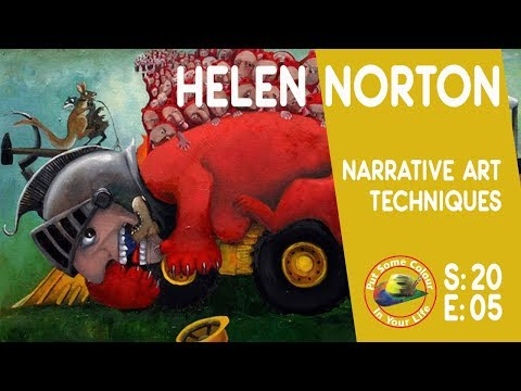 Narrative art with Helen Norton | Colour In Your Life