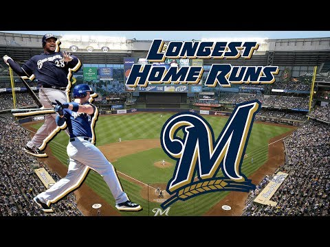 Milwaukee Brewers Longest Home Runs