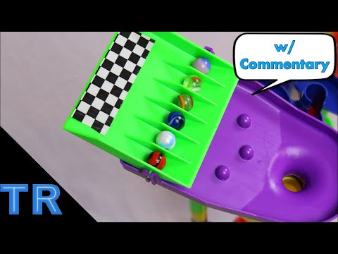 EPIC Marble Elimination Race w/ Commentary - Toy Racing