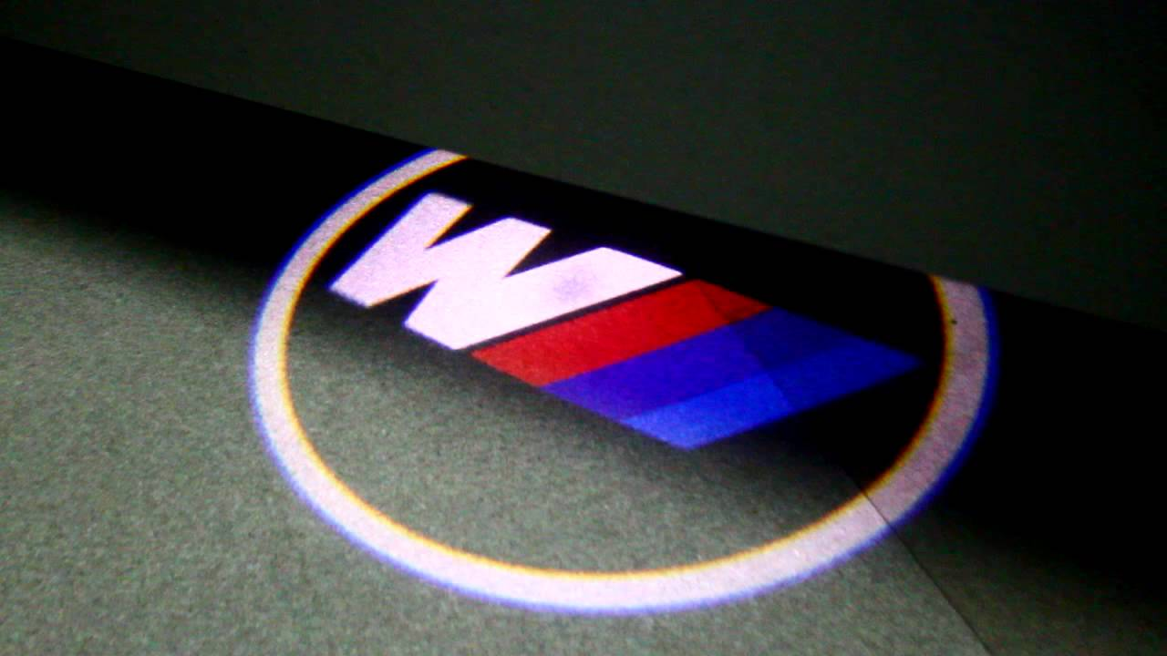 led logo einstiegsbeleuchtung bmw m power youtube. Black Bedroom Furniture Sets. Home Design Ideas