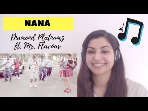 Diamond Platnumz ft. Mr. Flavour- Nana- Reaction Video!